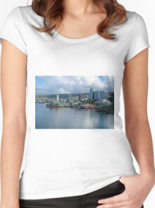 Aloha Tower Women's Fitted Scoop T-Shirt