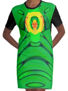 Cult of the Radioactive Frog Graphic T-Shirt Dress