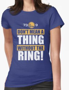 Golden State Warriors Record Useless Womens Fitted T-Shirt