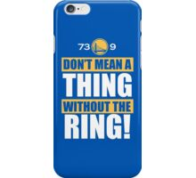 Golden State Warriors Record Useless iPhone Case/Skin
