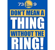 Golden State Warriors Record Useless Photographic Print