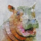 abstract hippo by Ancello