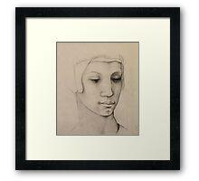 Homage to Michelangelo Framed Print