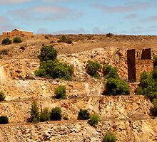Copper Mine, Australian Heritage by jwwallace