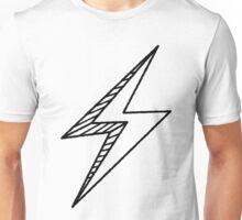 Hand drawn lightning bolt Unisex T-Shirt