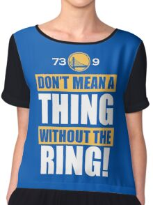 Golden State Warriors Record Useless Chiffon Top