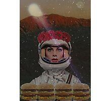 Burgers in space Photographic Print