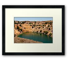 Australian Heritage Copper Mine Framed Print