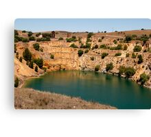 Australian Heritage Copper Mine Canvas Print