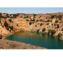 Australian Heritage Copper Mine Photographic Print