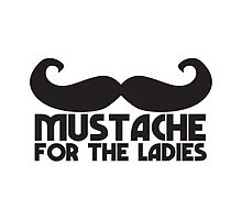 MUSTACHE for the ladies by jazzydevil