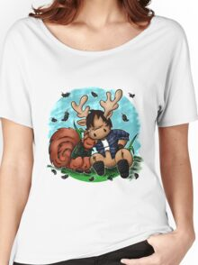 Moose and Squirrel Women's Relaxed Fit T-Shirt