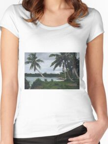 I Found A Dream Women's Fitted Scoop T-Shirt