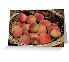 Just Peachy! Greeting Card