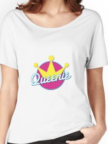 Queenie! with cute crown Women's Relaxed Fit T-Shirt
