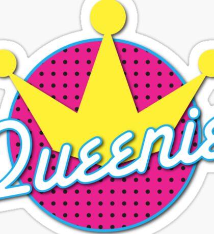 Queenie! with cute crown Sticker