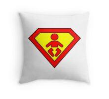Super baby Throw Pillow