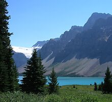 Bow Lake by davidandmandy