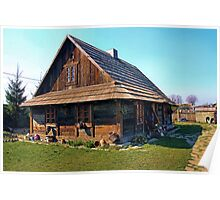 Rural cottage- museum Poster