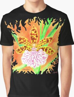 Zygo Fire Orchid Graphic T-Shirt