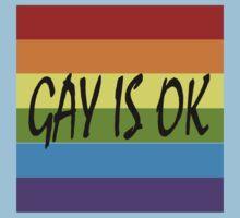 Gay Is OK  Kids Tee