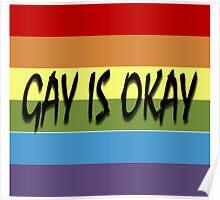 Gay Is Okay  Poster