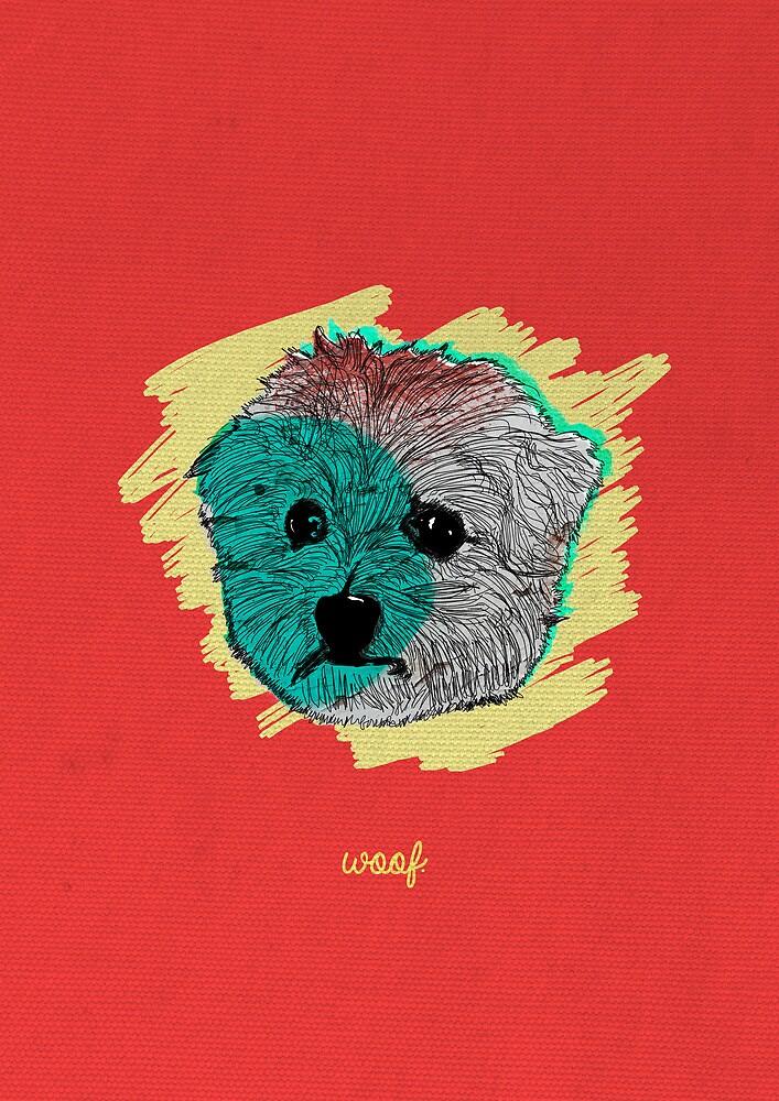 Woof. by crunkdesignz