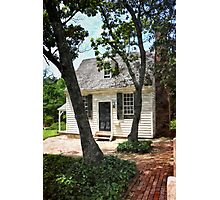 Two Tree Cottage Photographic Print