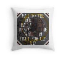 Hail to the redskins Throw Pillow
