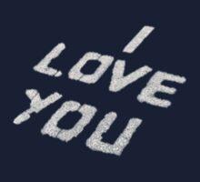 I Love You  Baby Tee
