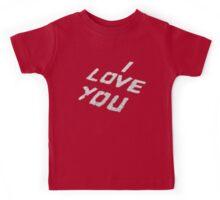 I Love You  Kids Tee