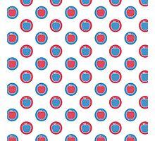 Snow White - #2 Apple Circles Photographic Print