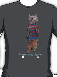 the cat skate  T-Shirt