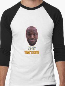 Lebron James Funny  Men's Baseball ¾ T-Shirt