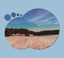 Amazing vivid winter wonderland   landscape photography Kids Clothes