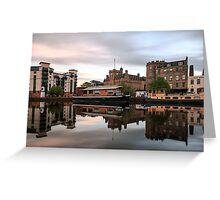 20:30 at the Shore, Edinburgh Greeting Card