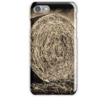 Round Hay iPhone Case/Skin