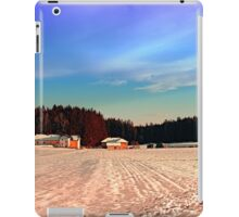 Amazing vivid winter wonderland | landscape photography iPad Case/Skin