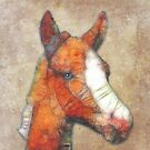 abstract foal by Ancello