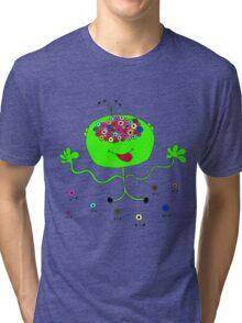 alien eyes Tri-blend T-Shirt