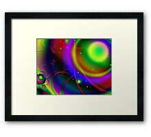 Rainbow Halo Framed Print