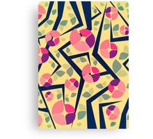 Blooming Trees Pattern Canvas Print
