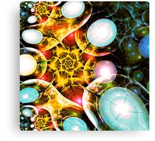Shining Colors Canvas Print