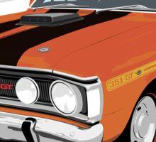 Ford Falcon XY GT  - Vermillion Fire Sticker