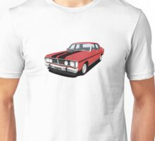 Ford Falcon XY GT - Track Red  Unisex T-Shirt
