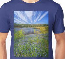 Bluebonnet Lake Skies Unisex T-Shirt