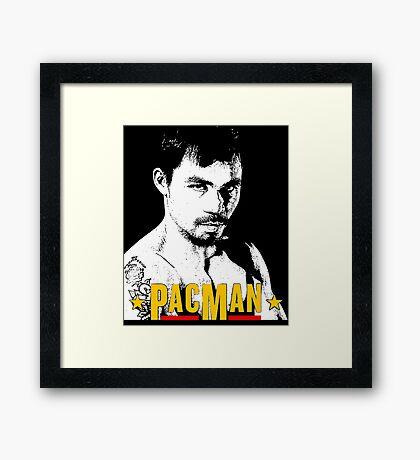 Pacman Power Framed Print