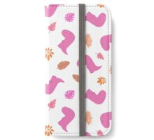 Pattern of cute dinosaur 3. iPhone Wallet/Case/Skin