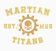 Sports Team: The Martian Titans by simonbreeze