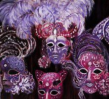 Venetian Masks by Anastasiya Malakhova
